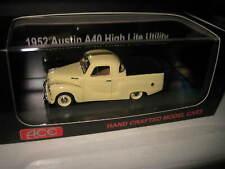 1/43 ACE MODEL CARS 1952 AUSTIN A40 HIGH LITE UTE   BEIGE  UTE LTD EDITION
