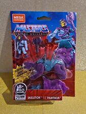 Mega - Construx - Masters of the Universe Revelation-Skeletor/ Panthor  -Flocked