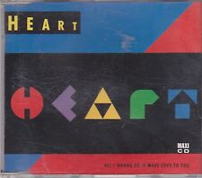 Heart-All I Wanna Do Is Make Love to you cd maxi single