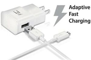 Wall Charger + Micro Cable For Samsung Galaxy Tab A 10.1 SM-T580 Tablet (2016)