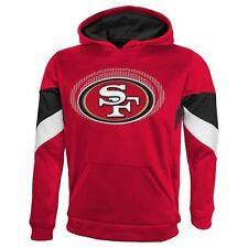 """NFL San Francisco 49ers Youth """"The Edge"""" Pullover Hoodie, Large"""