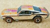 Vintage 1974 Hot Wheels Redline Ford Mustang Stocker 450HP Chrome