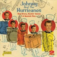 Red Rivers, Rockin' Geese & Beatnik Flies by Johnny & the Hurricanes (CD, Mar-2012, 2 Discs, Jasmine Records)