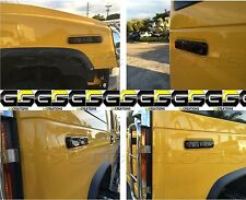 H2 Hummer Side Marker Blackouts (4 piece smoked cover kit)