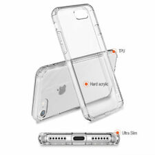 Crazy shock proof Cover Clear Hybrid Case for iPhone 7 8 Plus X Free Car Holder