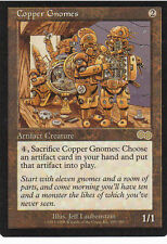 MTG - Urza's Saga 4x Copper Gnomes!  Slightly Played Cond!  FREE SHIPPING!