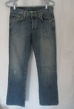 Lucky Easy Rider women's jeans flare low rise sz 2/26 button closure used