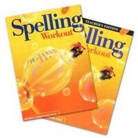 4th Grade 4 MCP Spelling Workout Level D Homeschooling Kit Homeschool Curriculum