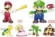 New Lot 7Pcs Super Mario bros mini figures Figurine Toy Doll