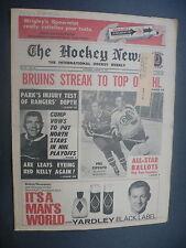 The Hockey News March 13, 1970 Vol.23 No.23 Gump Worsley Phil Esposito Mar '70 B