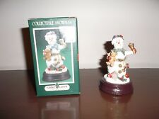 Cedar Creek Collectible Snowman With Original Box
