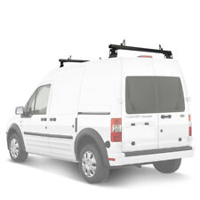 """Aluminum 2 Bar 50"""" Utility Drilling Roof Rack (Fit:Ford Transit Connect 2008-13)"""