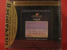 "MFSL-UDCD 622 VANGELIS "" CHARIOTS OF FIRE "" (MFSL-GOLD-CD/USA/FACTORY SEALED)"