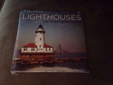 Brand New Lighthouses 2014 16-Month Calendar ~ Each Month Has Different Scene