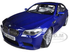 2012  BMW M5 (F10M) SAN MARINO BLUE 1/18 DIECAST MODEL CAR  BY PARAGON 97014