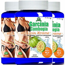 100% Pure Garcinia Cambogia Extract Plus 1000mg 100% Pure Weight Loss with HCA