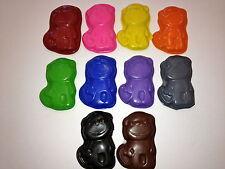 10 Rainbow Mod Monkey Crayons Party Favors Teacher Supply Jungle Zoo Animal