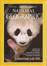 February National Geographic Travel & Exploration Magazines