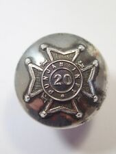 India:20th Punjab Infy original (1864-83) Officers Button.