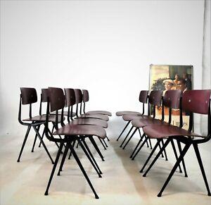 Result, chair Stühle Industriedesign 1953 er von Friso Kramer entworfen und herg