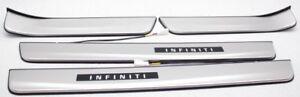 OEM Infiniti Q50 Illuminated Sill Kick Plate Covers