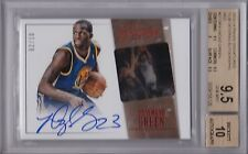 DRAYMOND GREEN 2013-14 Signatures Film Red Autograph /10 BGS 9.5/10 auto Pop 1