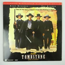 Tombstone Laserdisc 1994 Widescreen Extended Play