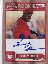 2011 Playoff Contenders Larry Greene Philadelphia Phillies Autograph Auto Card