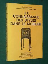 La connaissance des styles dans le mobilier J. STANY GAUTHIER