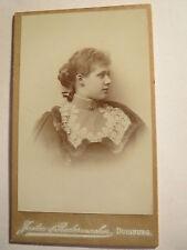 Duisburgo-joven hermosa mujer-chica-Portrait/CDV