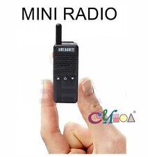 AHUAGO M2 AW-470 Mini 2.5W 16CH mini Handheld Two-way Radio Walkie Talkie FREE E