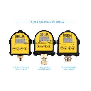 Intelligent AC 220V 10A Digital Display Water Pump Pressure Controller Switch