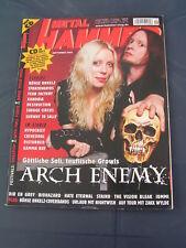 Metal Hammer 9/2005 ARCH ENEMY STRATOVARIUS GONZO NIGHTWISH SUBWAY TO SALLY