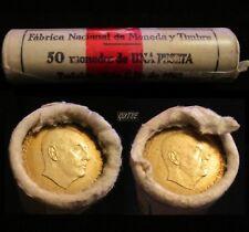 *GUTSE* FRANCO, CARTUCHO FNMT, 50 MONEDAS, 1 PESETA 1966*????, SIN CIRCULAR