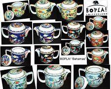 Teekannen im Landhaus-Stil aus Porzellan