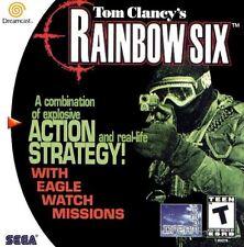 Sega Dreamcast Spiel - Tom Clancy´s Rainbow Six (mit OVP)(NTSC-USA IMPORT)