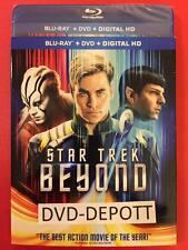 Star Trek Beyond (Blu ray + DVD + Digital HD & Slipcover *AUTHENTIC READ* New