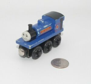 Thomas & Friends Wooden Railway Train Tank Engine - Sir Handel - GUC 2002 - Blue