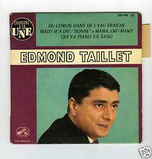45 RPM EP EDMOND TAILLET MADY M'A DIT SONNE