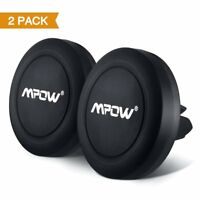 2-Pack Mpow Air Vent Magnetic Car Mount Holder Universal for iPhone Samsung