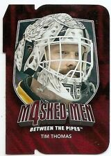 11/12 BETWEEN THE PIPES MASKED MEN IV RUBY Tim Thomas #MM44