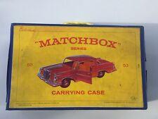 Rare Vintage Matchbox 1965 Collectors Case VGC