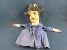 Ancienne marionnette à gaine XIXe Gendarme