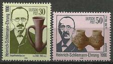 Germany (East) 1990 MNH -  Death Centenary Heinrich Schliemann Archaeologist
