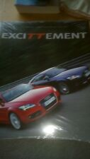 EXCITTEMENT BOOK IS STILL SEALED ( AUDI )