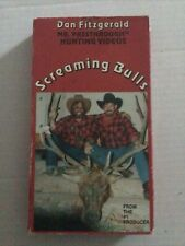 """Dan Fitzgerald's """"Screaming Bulls"""" Vhs Hunt Video,Bowhunting"""