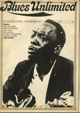 BLUES UNLIMITED Magazine No 103 August/September 1973 Ruth Brown Ray Agee