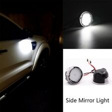 2PCS High Power White LED Side Mirror Puddle Lights For Ford F150 2012-2018