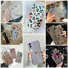 For girls Glitter Marble Case For iphone 12 11 Pro Max 7 8 Plus XS Max XR Cover