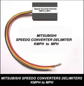 SPEEDOMETER CONVERTER DELIMITER MITSUBISHI  GTO FTO EVO 4 5 6 7 8 9 KPH to MPH